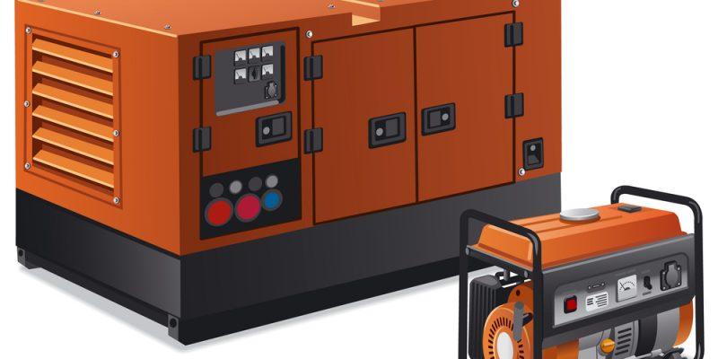 Gerador a diesel ou a gasolina: qual a diferença?